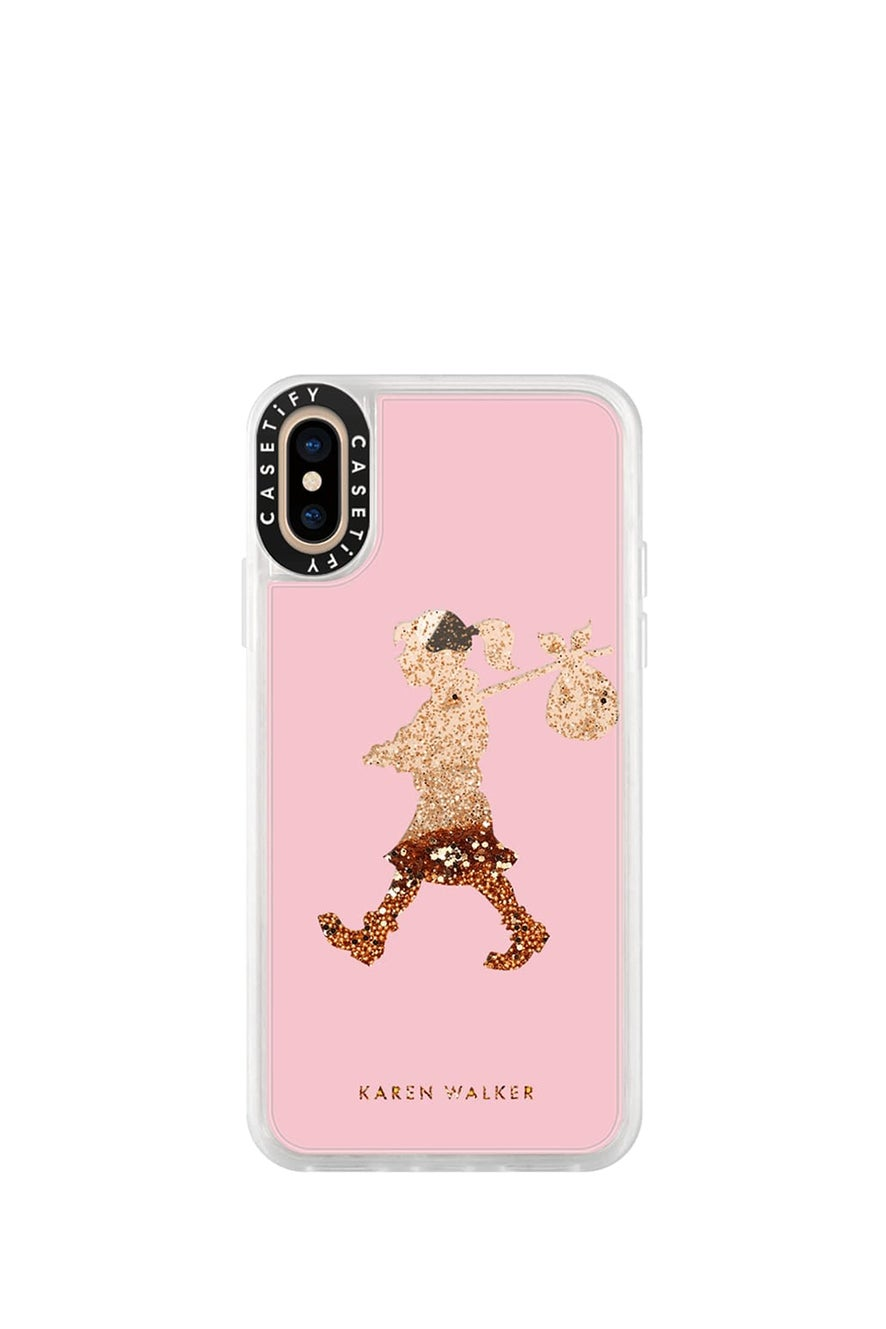 Runaway Girl iPhone Case Pink