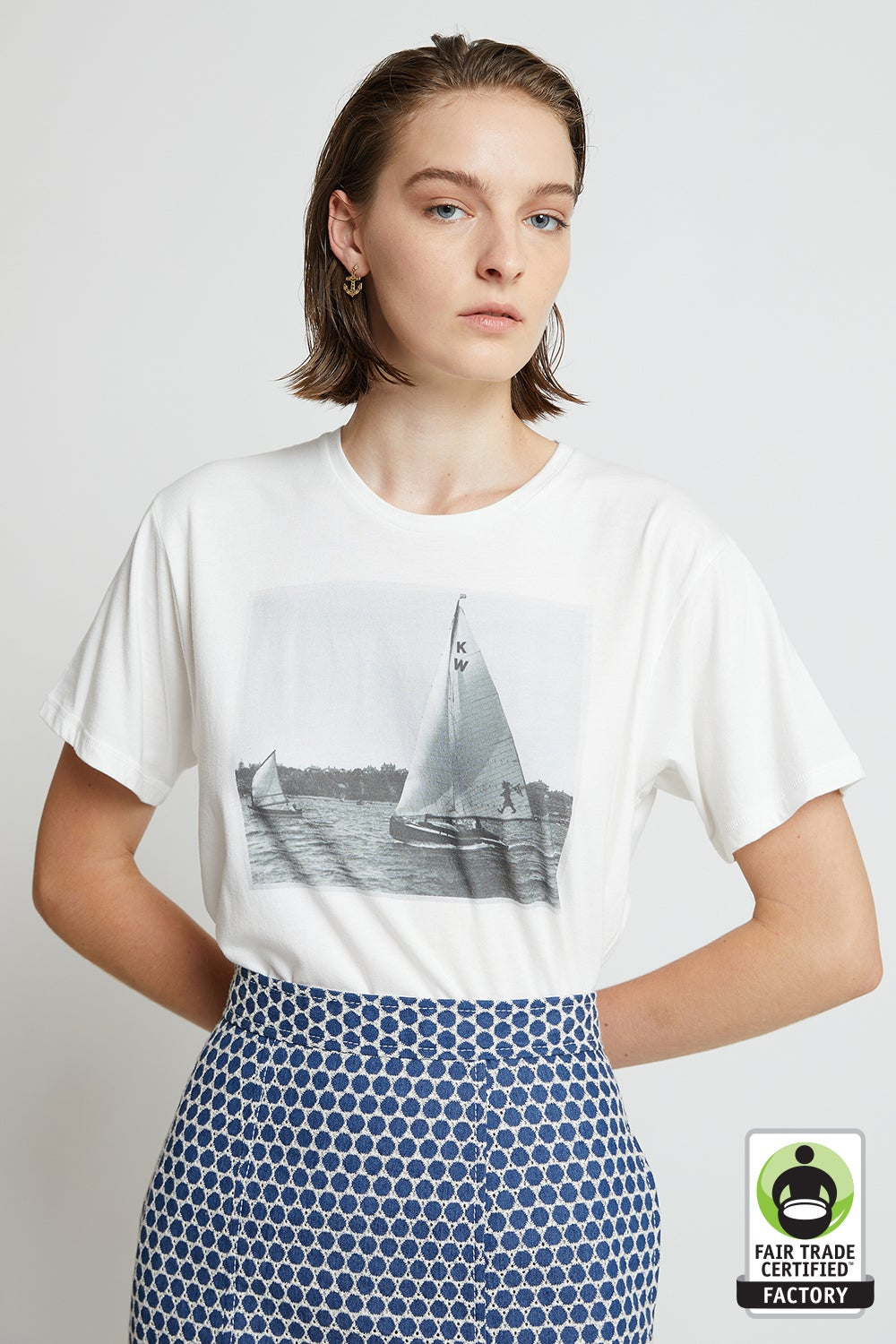 Organic Cotton Sail T-Shirt