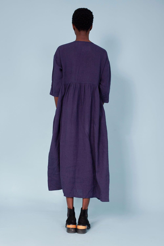 L.F Markey Sammy Dress Navy