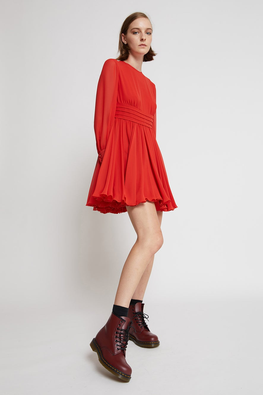 Scarlet Skating Dress