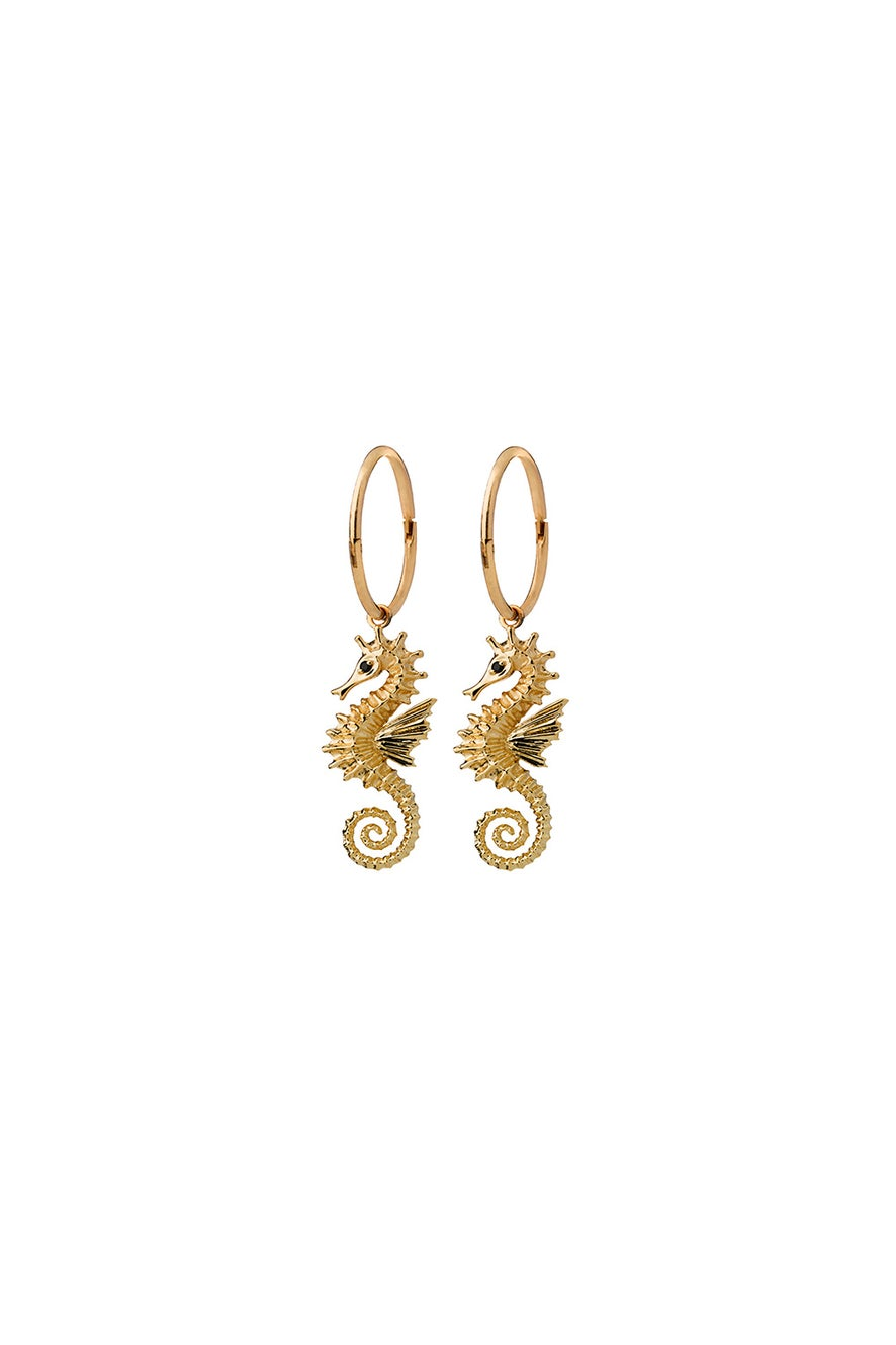 Seahorse Sleepers Gold