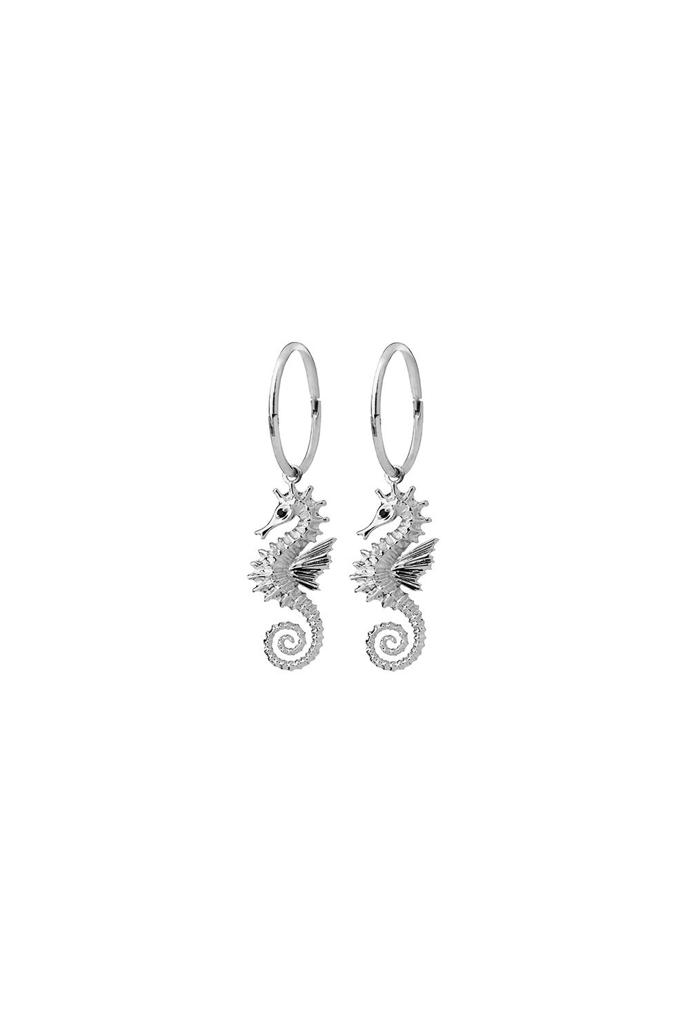 Seahorse Sleepers Silver