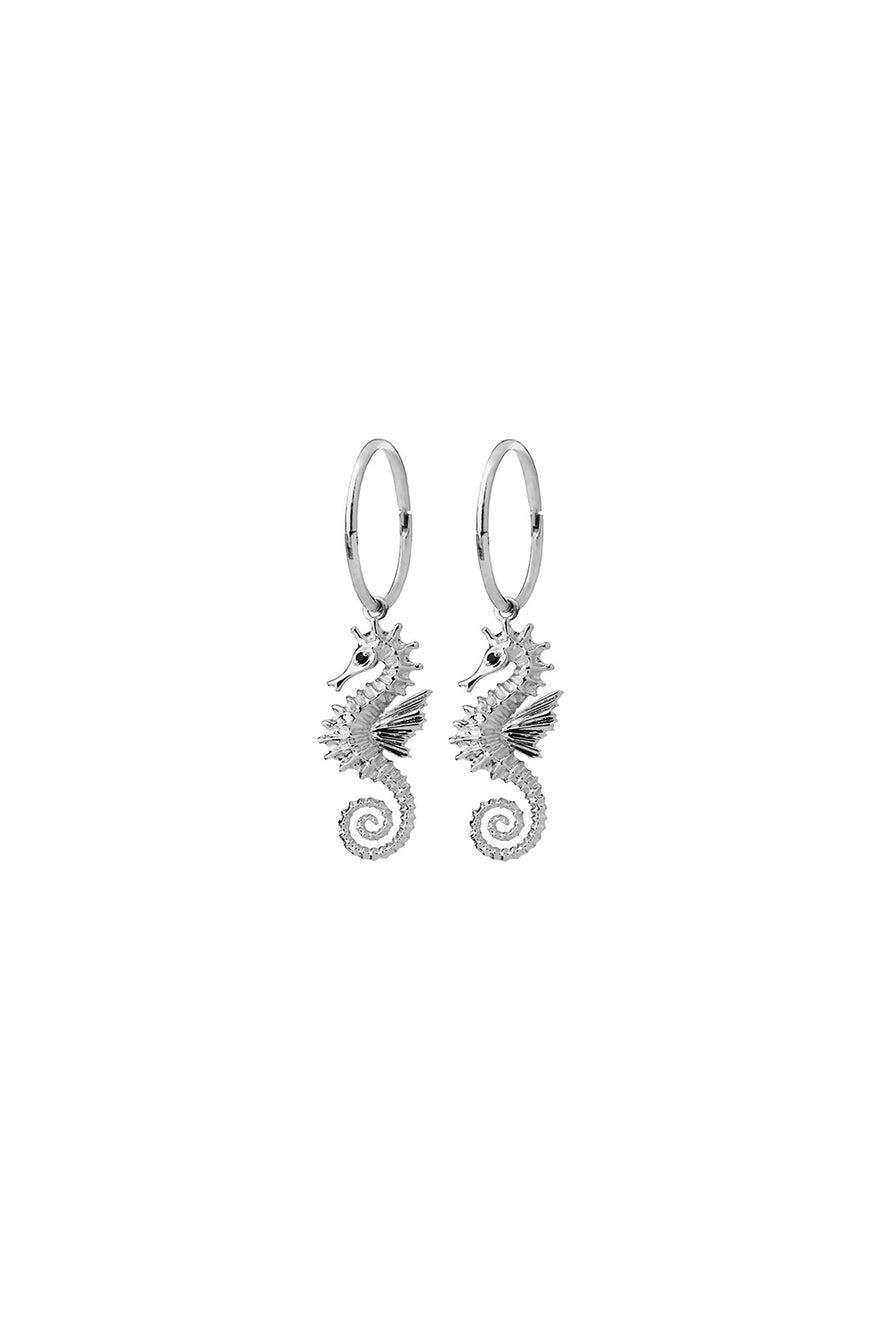Seahorse Sleepers Silver