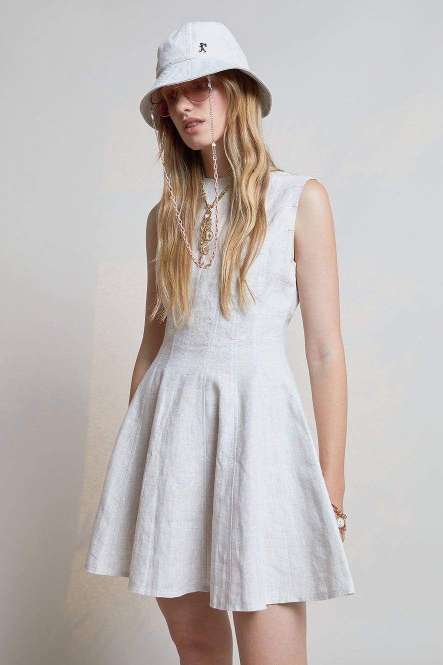 Serapis Panelled Dress