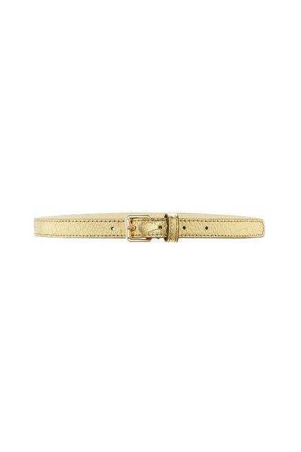 Serpent Skinny Belt