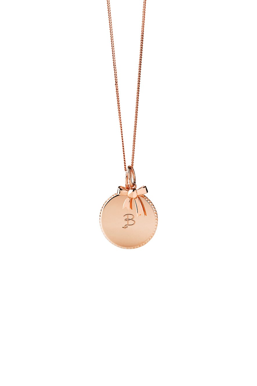 Society Necklace Rose Gold