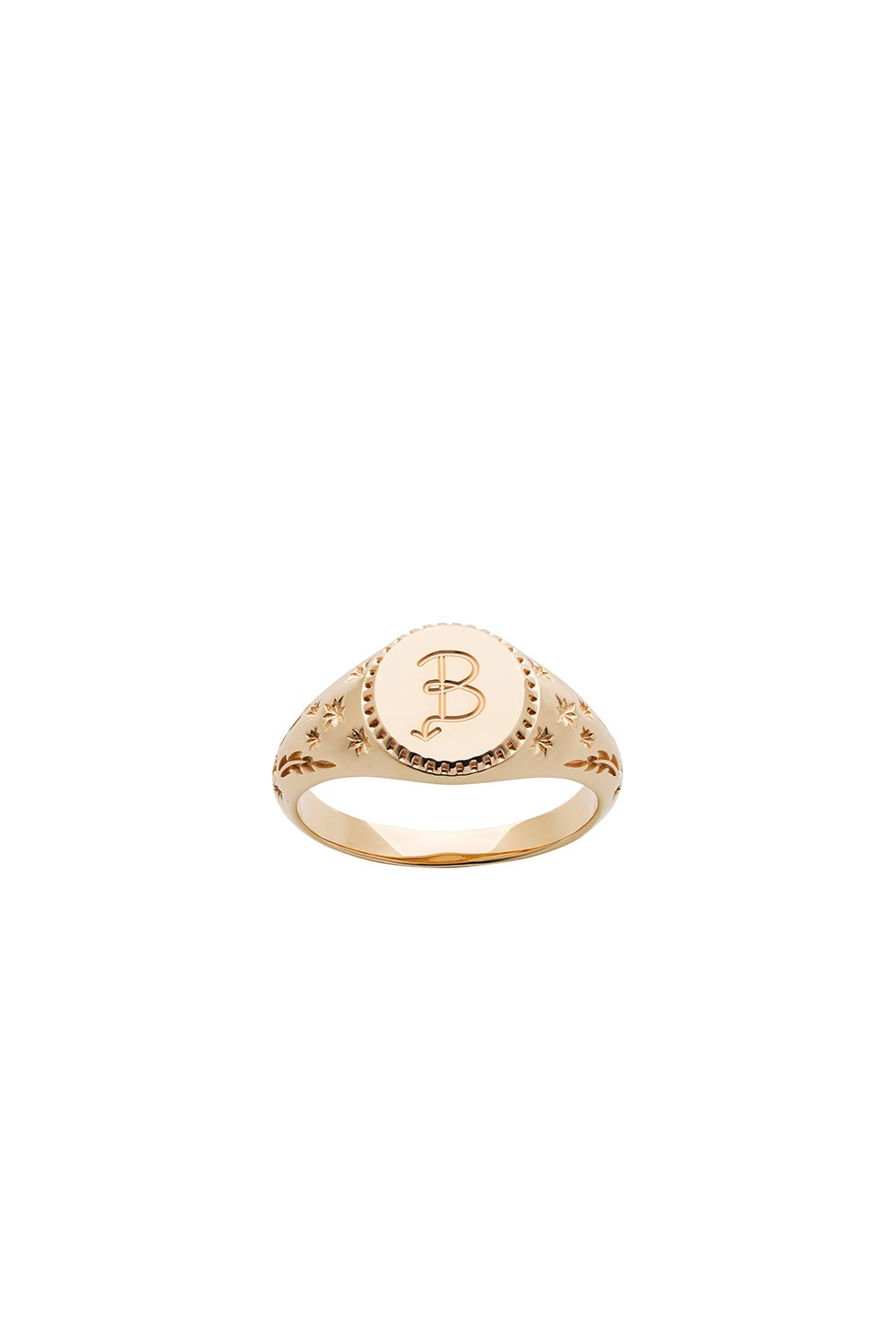 Society Signet Ring Gold