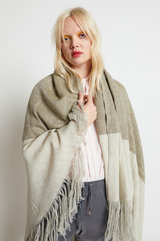 Stansborough Wool Blanket Scarf