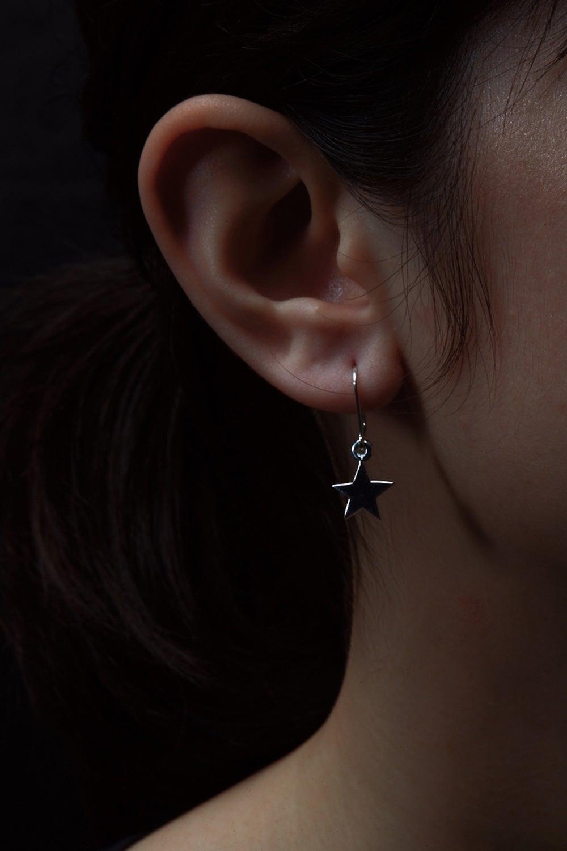 Star Earrings Silver