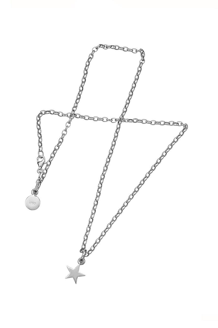 Star Pendant Silver