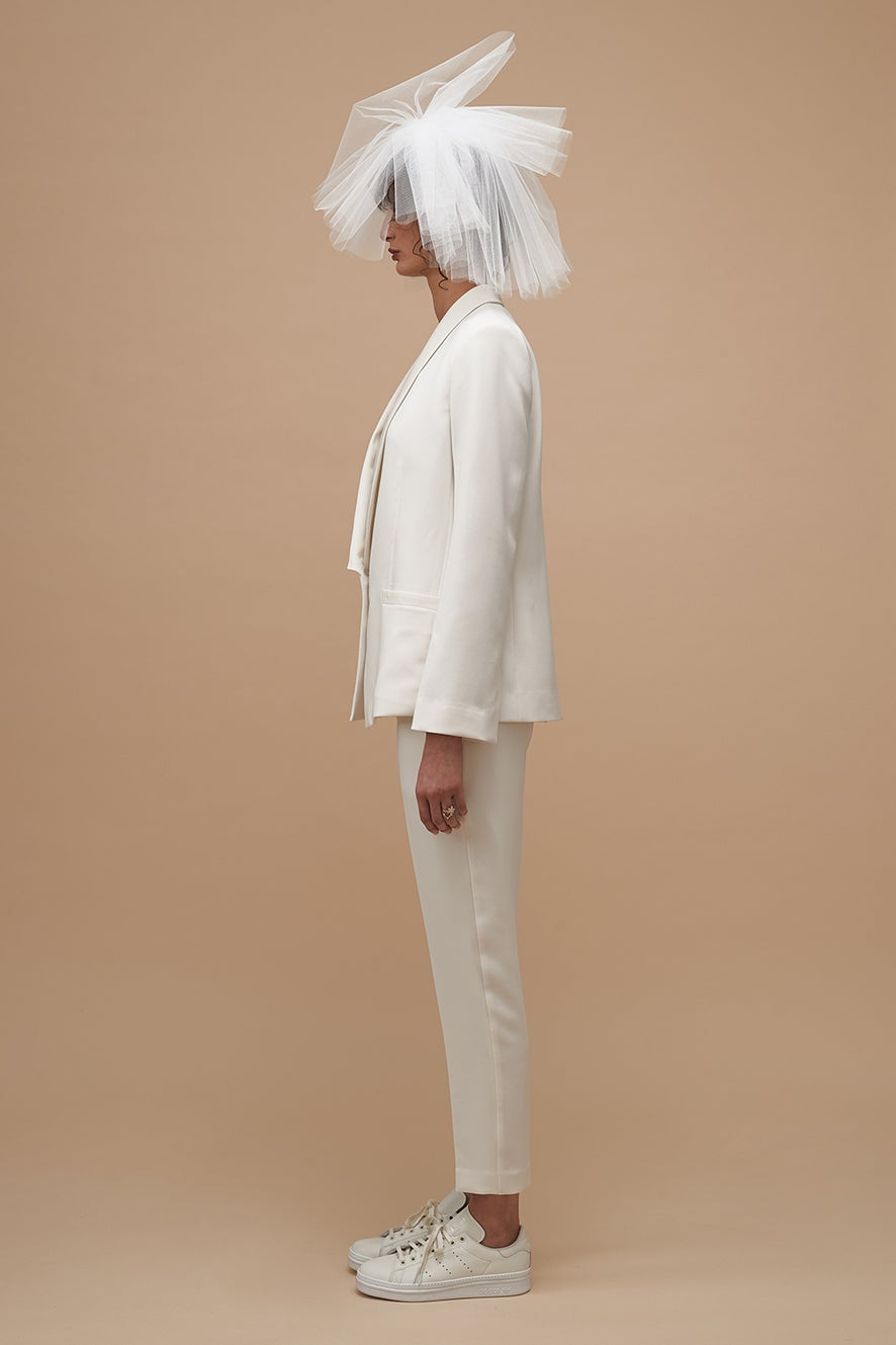 Love Tuxedo with Love Camisole and Devotion Tailored Trousers