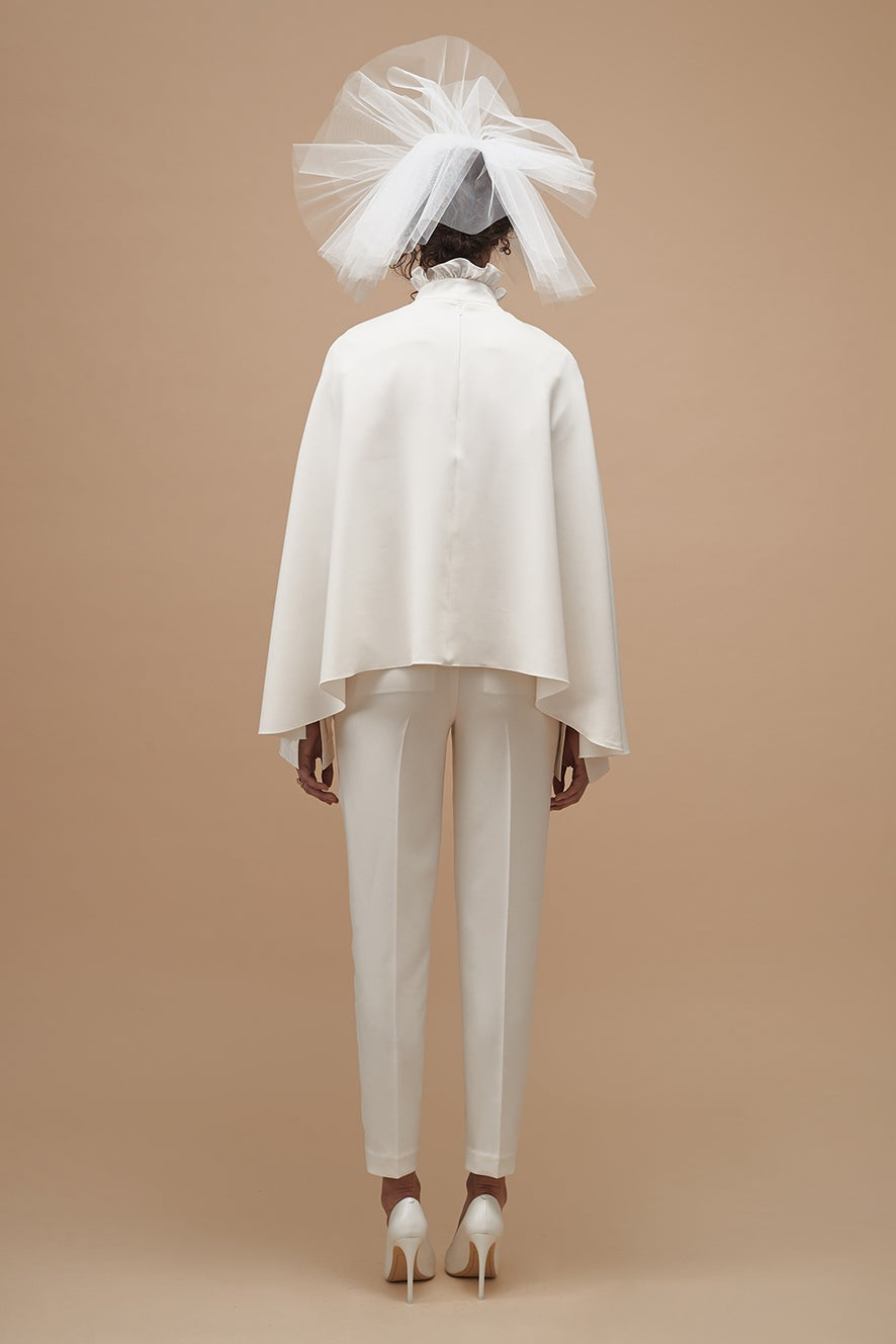 Forever Cape with Always Shirt and Devotion Tailored Trousers