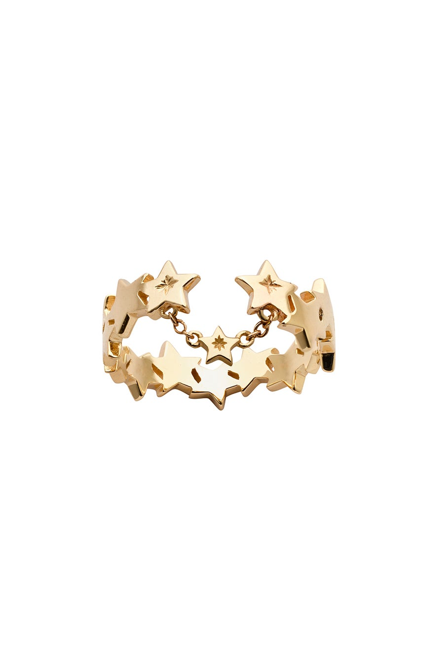 Supernova Ring Gold