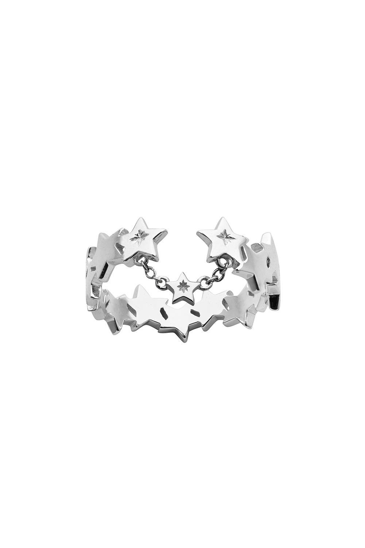 Supernova Ring Silver