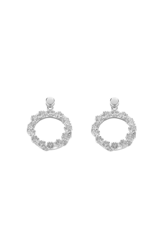 The League Earrings Silver