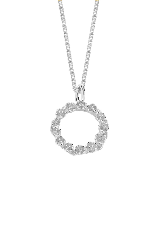 The League Necklace Silver