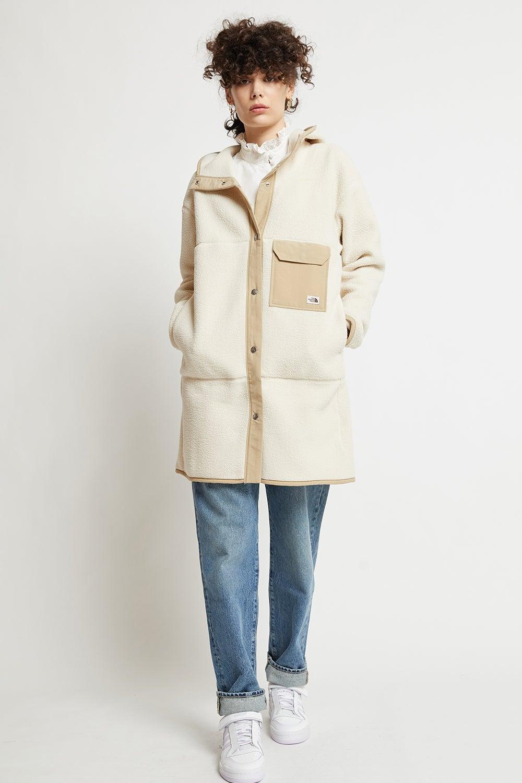 The North Face Women's Cragmont Fleece Coat Bleached Sand