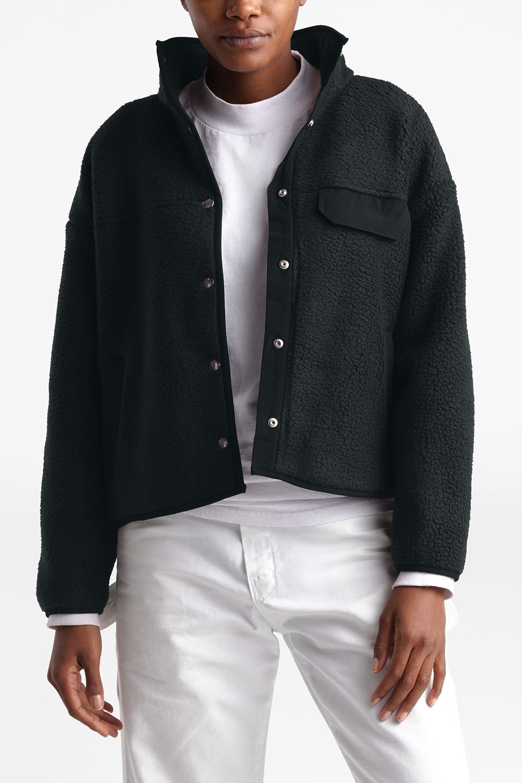 The North Face Women's Cragmont Fleece Jacket Black