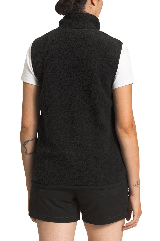 The North Face Women's Cragmont Fleece Vest Black