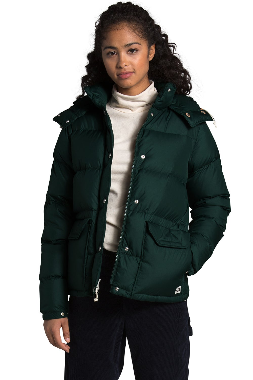 The North Face Women's Sierra Down Parka Scarab Green
