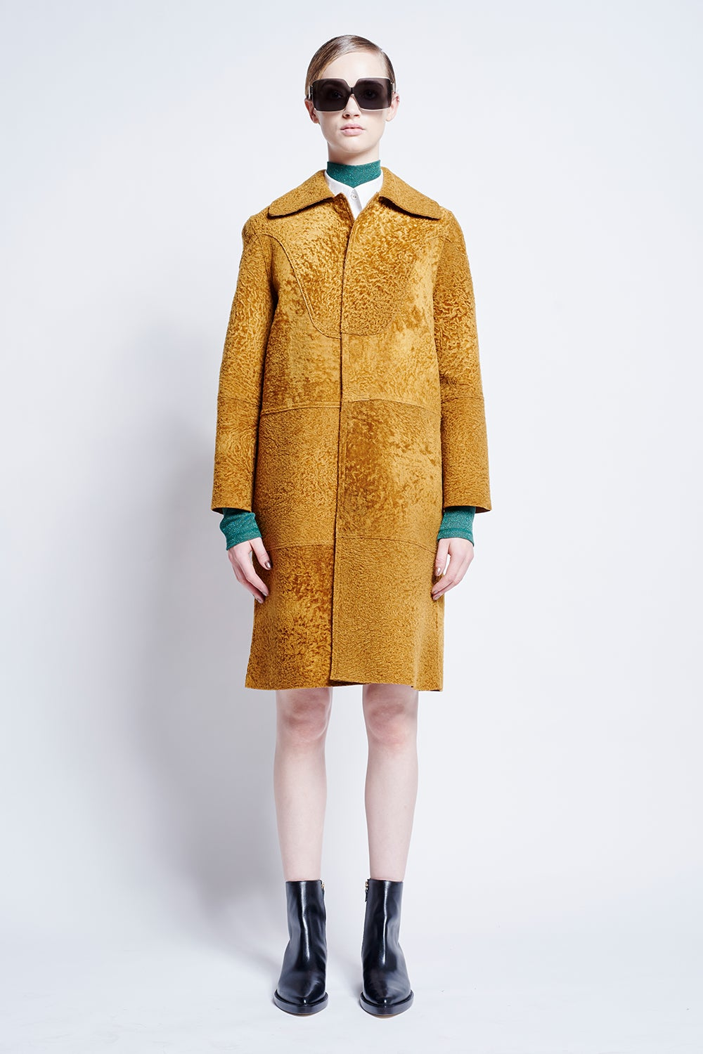 Theodore Panelled Coat