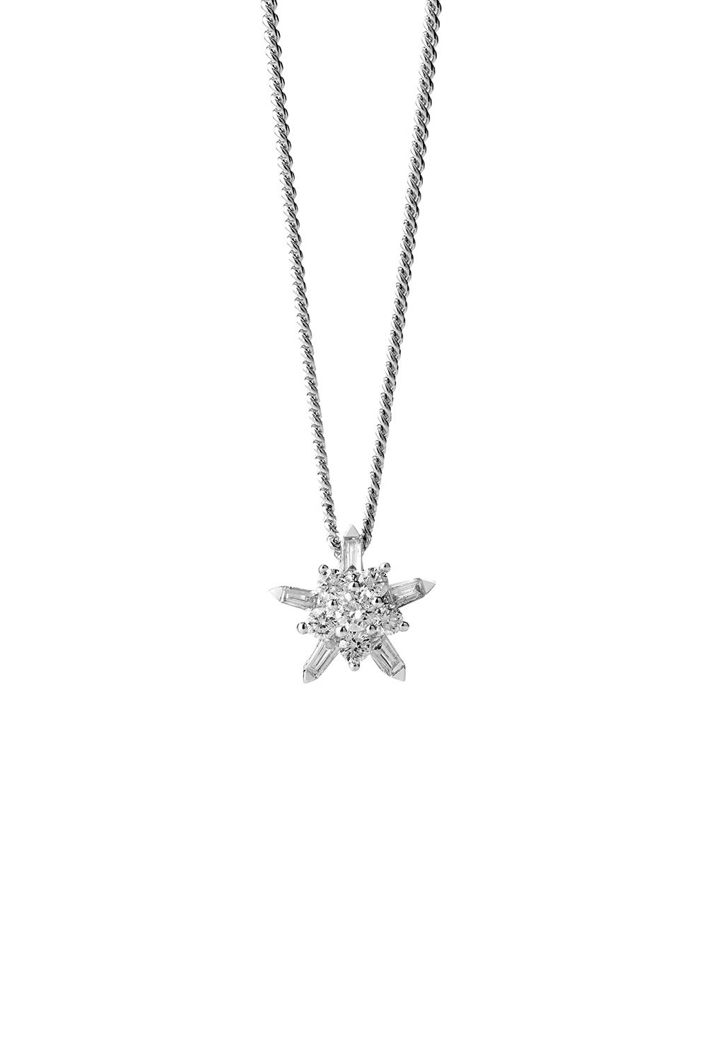 True Love Necklace White Gold