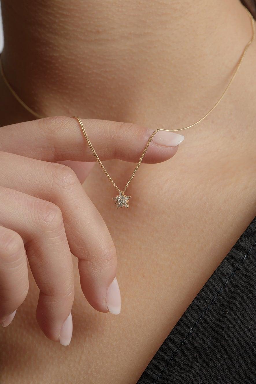 True Love Necklace White Gold