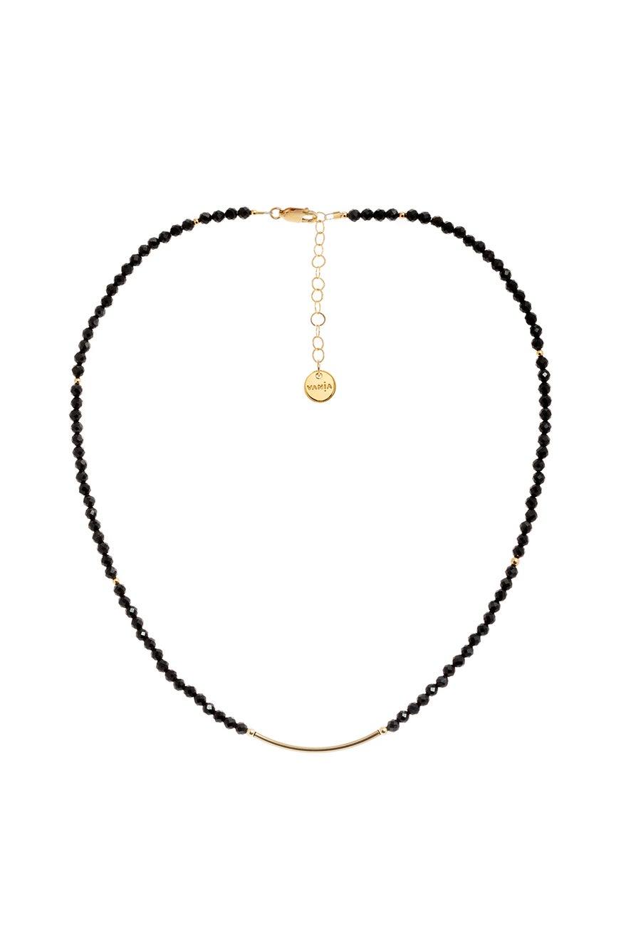 Vania Black Tourmaline Necklace