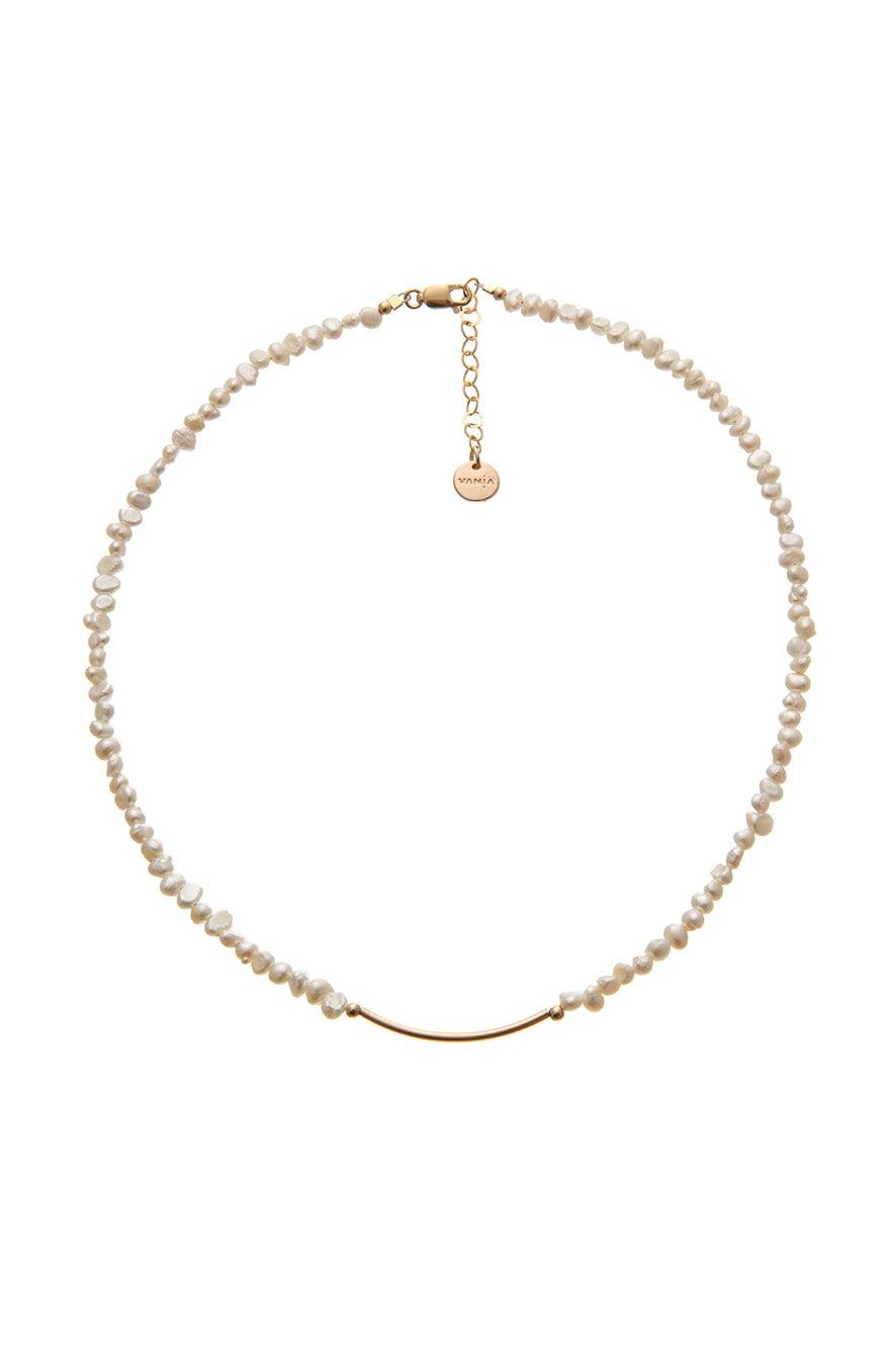 Vania Fine Pearl Necklace