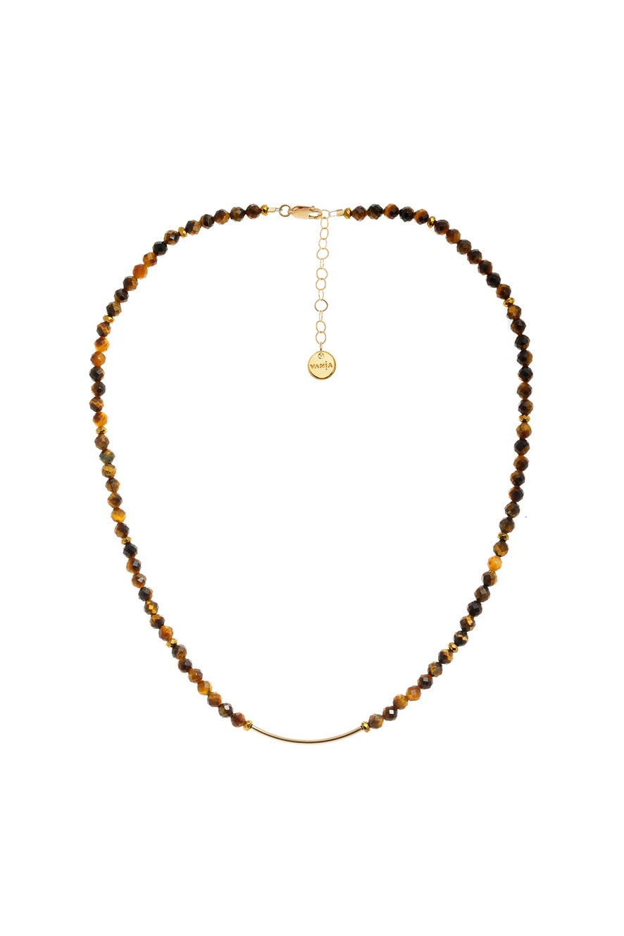 Vania Tiger's Eye Necklace