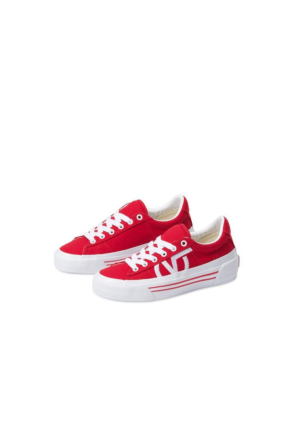 Vans Canvas Sid Ni Racing Red