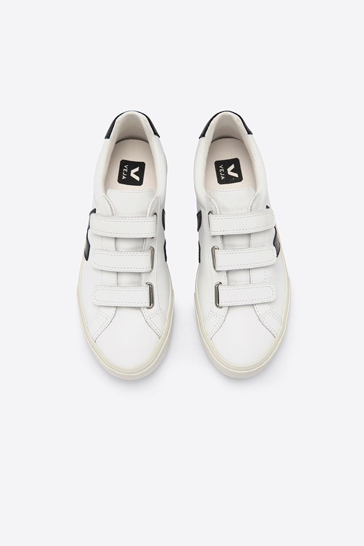 Veja 3-Lock Extra White/Black