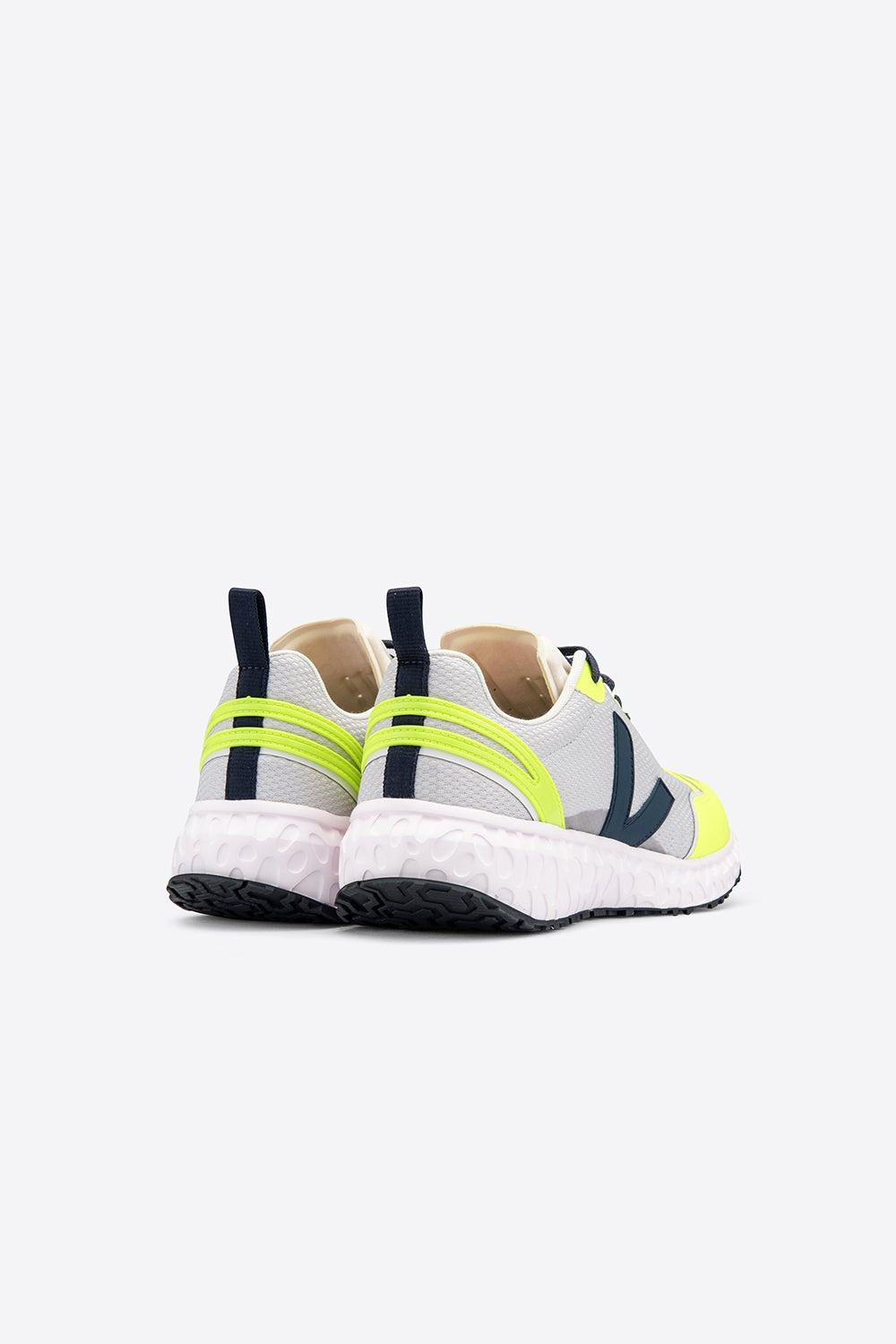 Veja Condor Light Grey/Neon Yellow