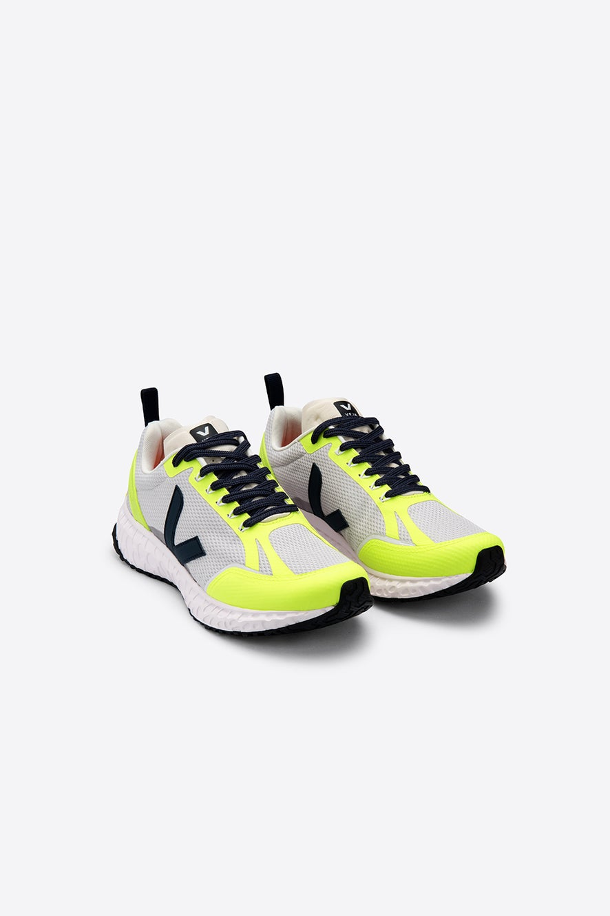 Veja Condor Light Grey/Neon Yellow