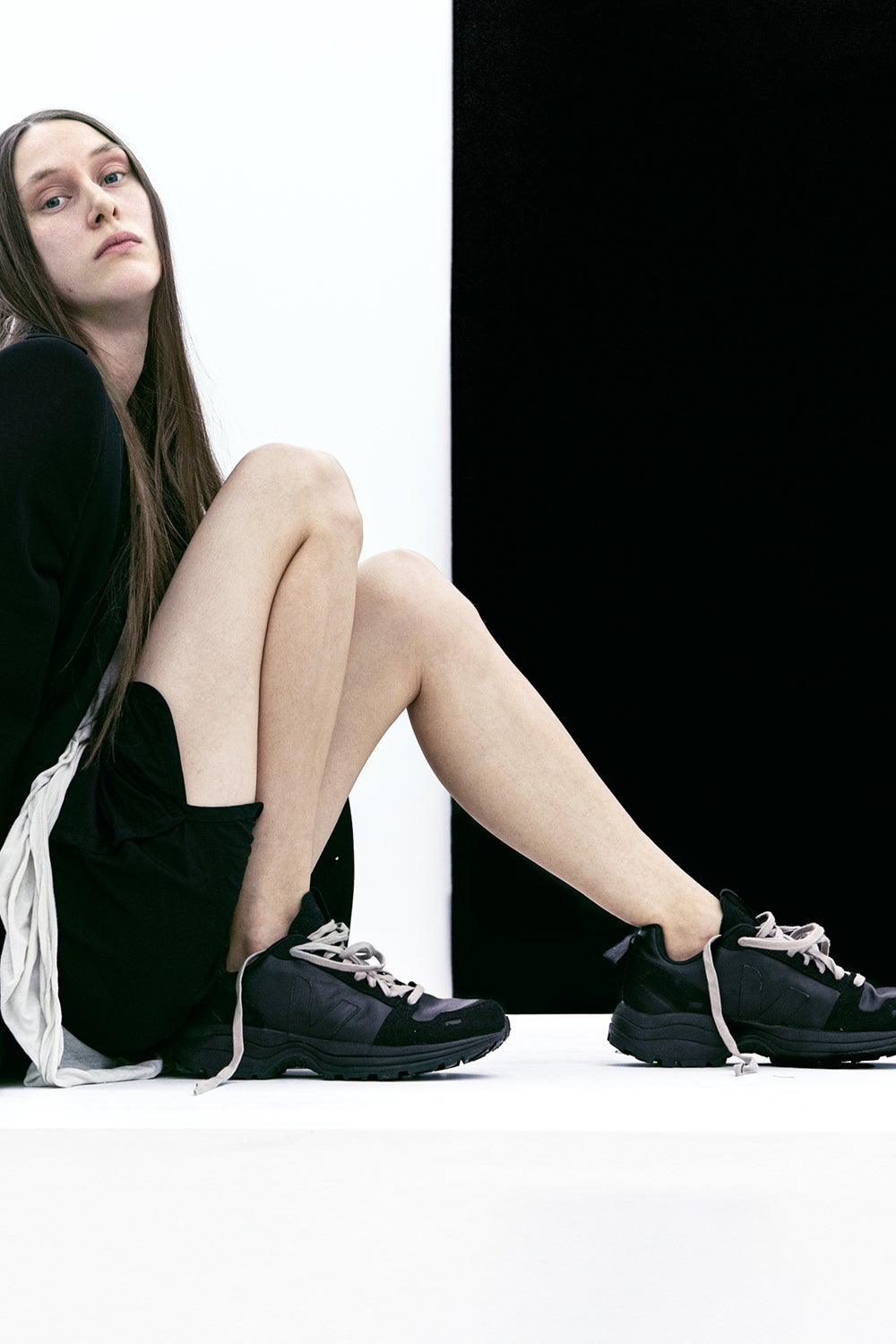 Veja x Rick Owens Hiking Style Vegan Black Transparent