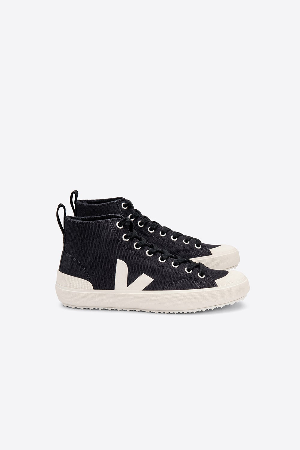 Veja Nova High Top Black/Pierre