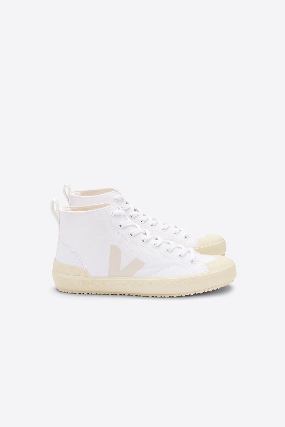 Veja Nova High Top White/Butter Sole