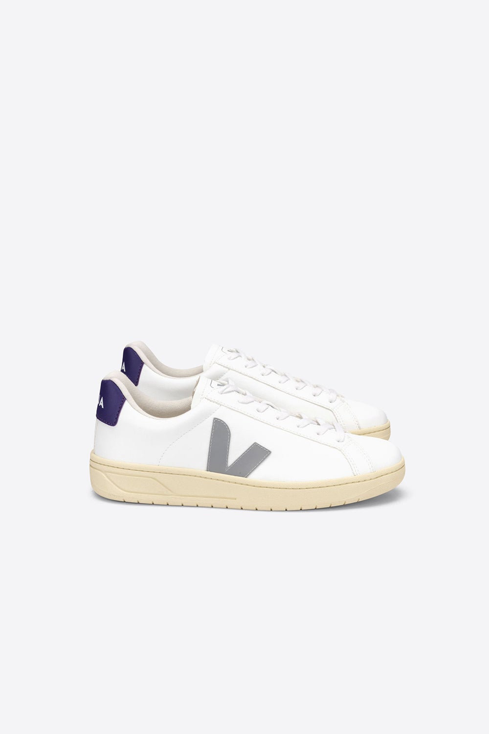Veja Urca White/Oxford Grey/Purple