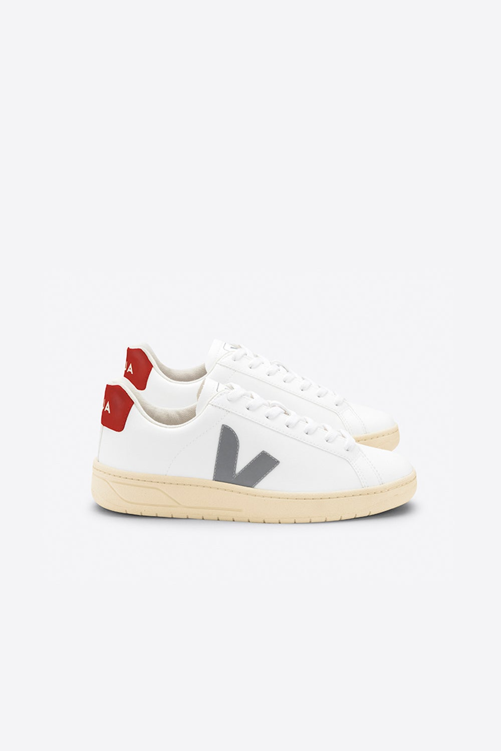 Veja Urca White/Oxford Grey/Rouille