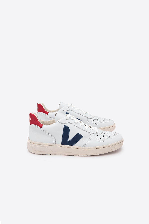 Veja V-10 Extra White/Nautico/Pekin