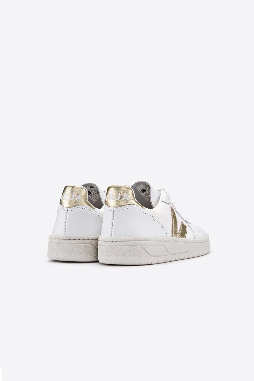 Veja V-10 White/Gold