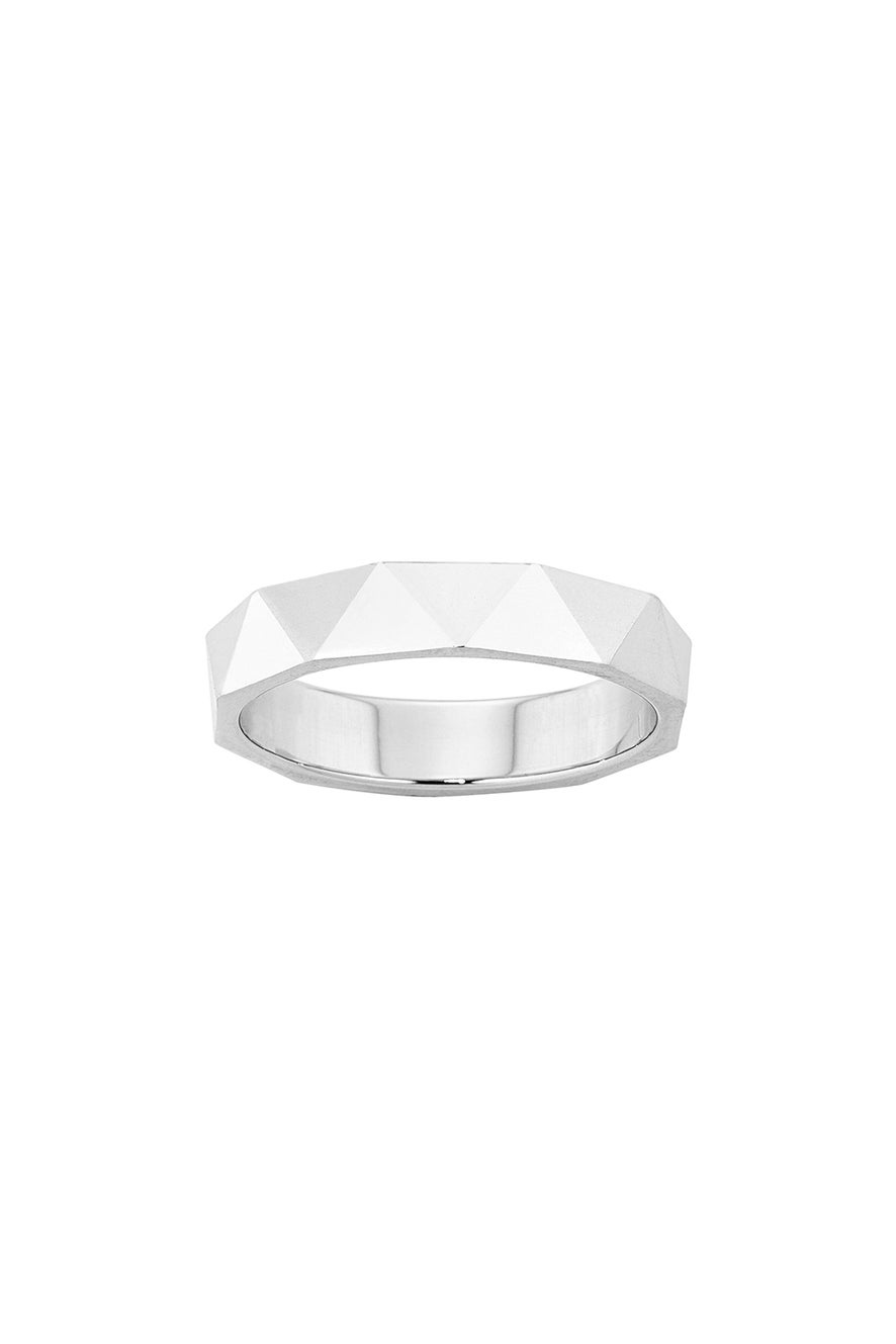 Velocity Ring Silver
