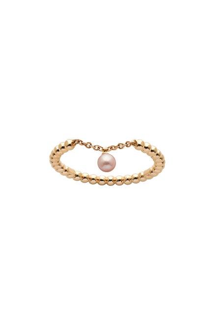 Vermeer Pearl Ring Gold