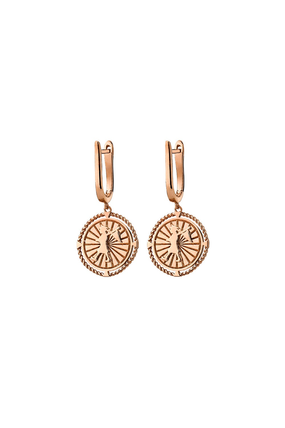 Voyager Earrings Rose Gold