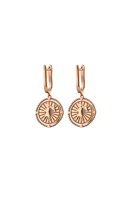Voyager Earrings Rose Gold