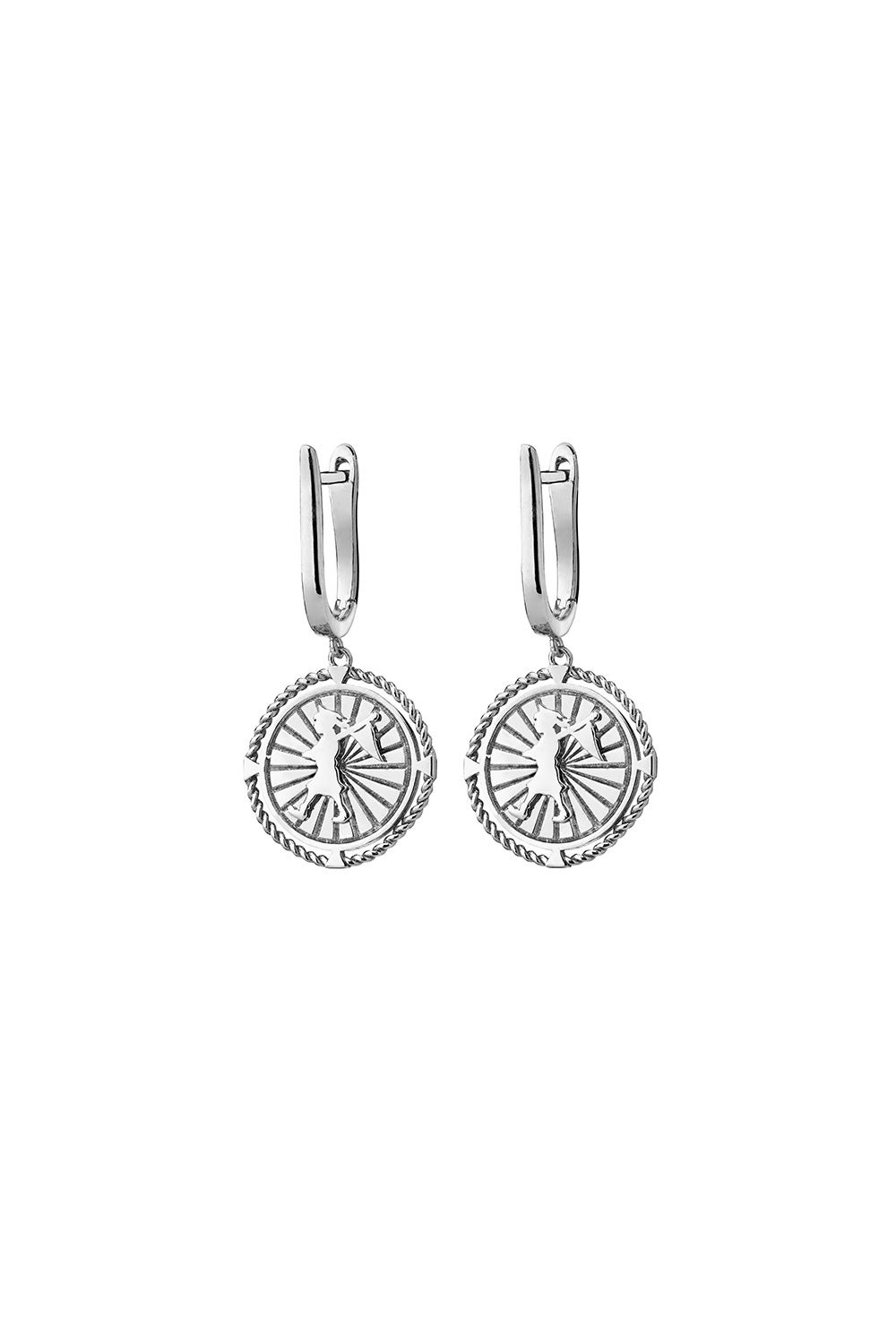Voyager Earrings Silver