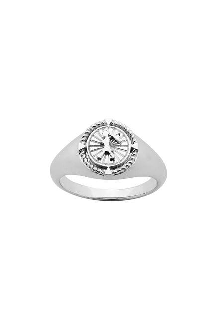 Voyager Signet Ring Silver