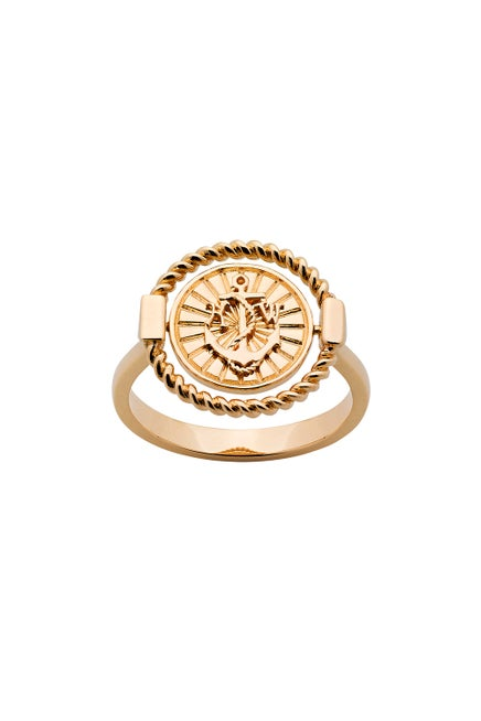 Voyager Spin Ring Gold