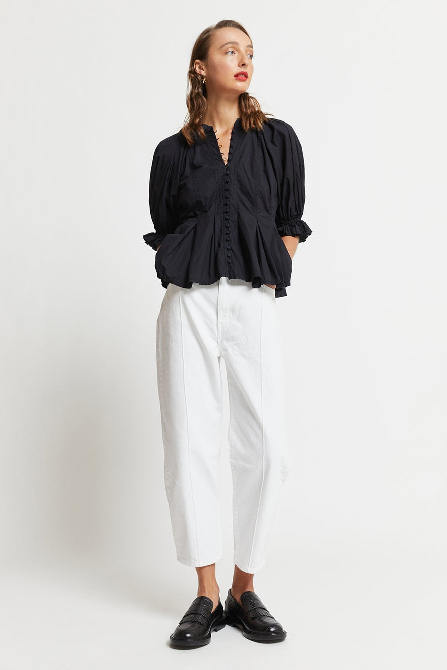 Levi's Made and Crafted Barrel Jeans White Sails Moj