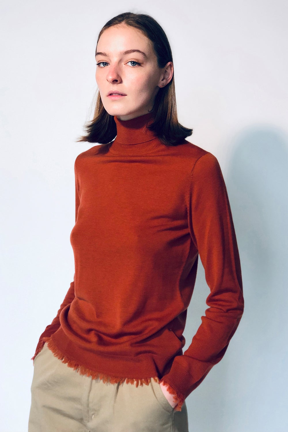 Wild Fray Roll Neck